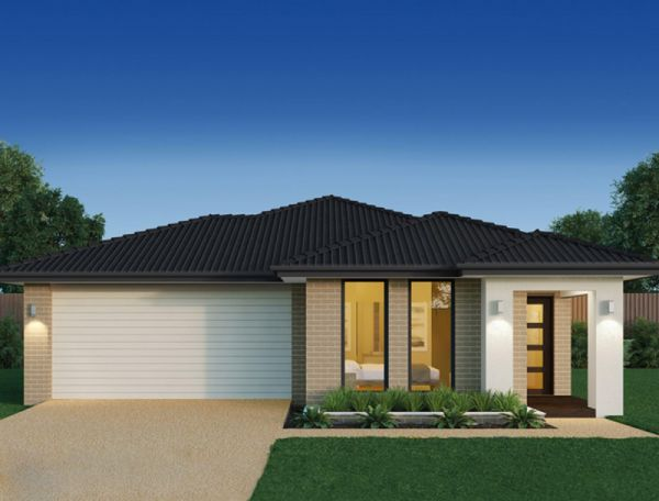 new home design scarlett 18 with claire facade